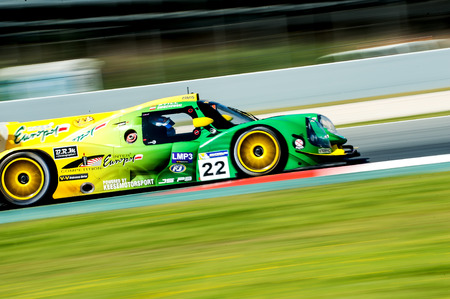 motorcars: Inter Europol Competition at V de V Endurance Series that celebrates at Circuit de Barcelona Catalunya on March 17-19 of 2017 in Barcelona, Spain. Editorial