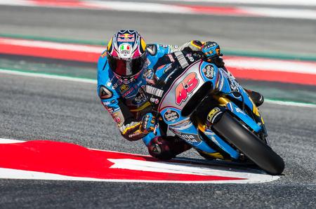superbike: BARCELONA, SPAIN  JUNE 10, 2017: Jack Miller during GP Monster Energy of Catalunya of MotoGP at Circuit of Barcelona-Catalunya.