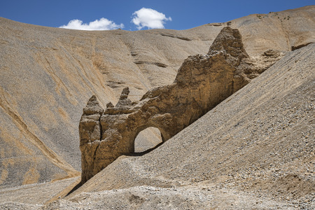 Natural rocky arch photo