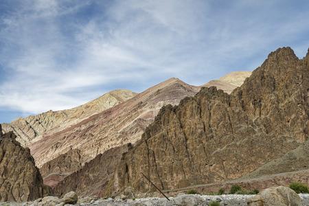 jagged: majestic jagged Himalayan mountains