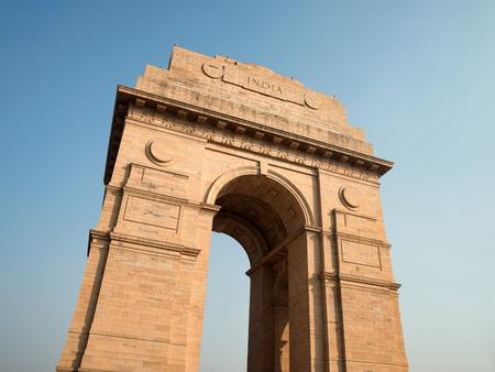 デリーでインド門記念碑