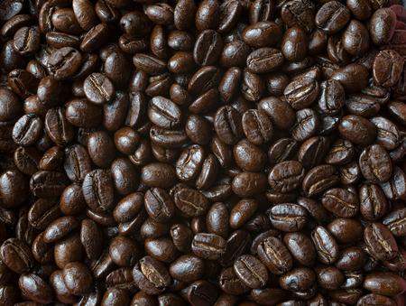 コーヒー豆クローズ アップ背景テクスチャ
