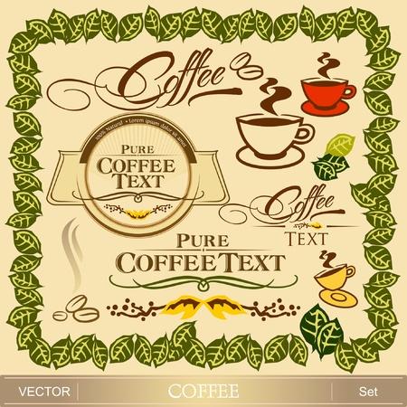 Coffee design set
