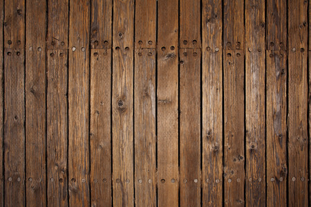 Old wood flooring on a pier