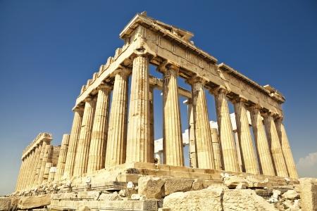 Partenone dell'Acropoli di Atene, Grecia Archivio Fotografico