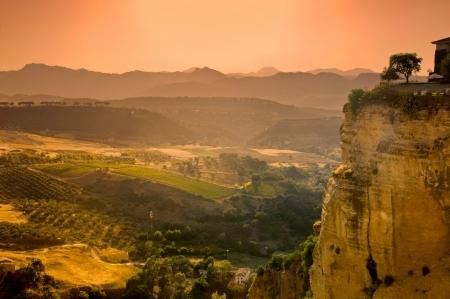 Campagna andalusa di Ronda, in Andalusia, Spagna