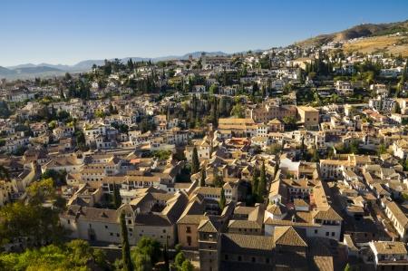Granada skyline in Andalusia, Spagna