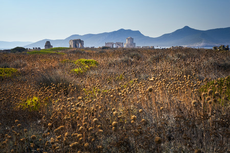 Methoni fortezza in Grecia