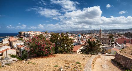 Chania skyline in Creta, Grecia