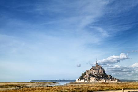 Mont Saint Michel in Normandia, Francia