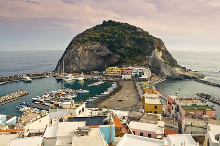 SantAngelo on Ischia Island, Italy