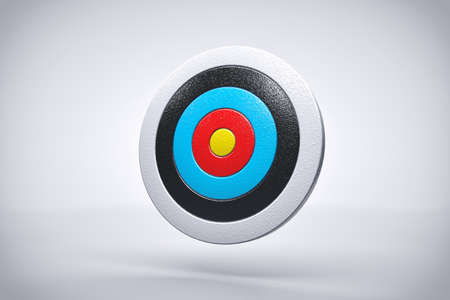 precision: Bullseye Precision Accuracy concept or Background or Wallpaper Stock Photo