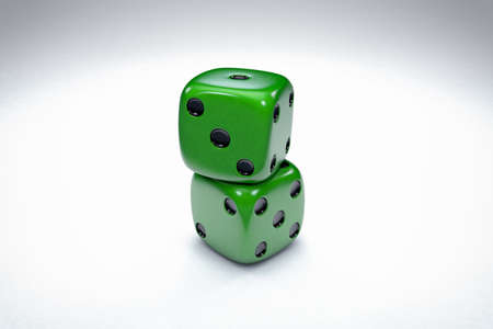 odds: Casino 3D Dices Background Illustration