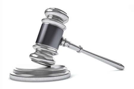 martillo: Ley 3D o Juez Concepto martillo.