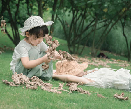 Chinese children play freely