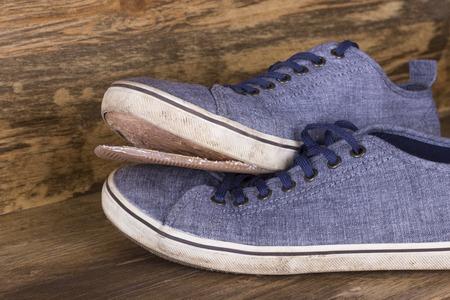 ragged: ragged shoes