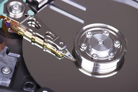 mass storage: hard disk magnetic