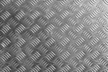 piastra acciaio: Uno sfondo della piastra di metallo diamante.
