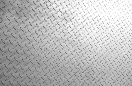 A background of old metal diamond plate  Stock Photo - 13332532