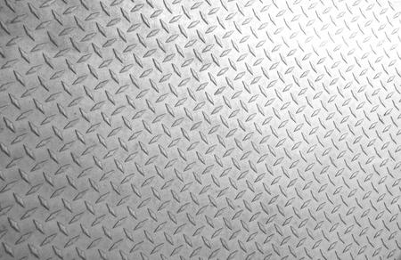 Een achtergrond van oude metalen plaat diamant