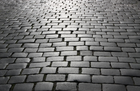 cobble: Abstract background of cobblestone pavement.