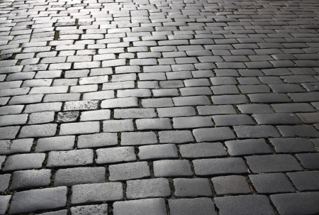 paving stone: Abstract background of cobblestone pavement.