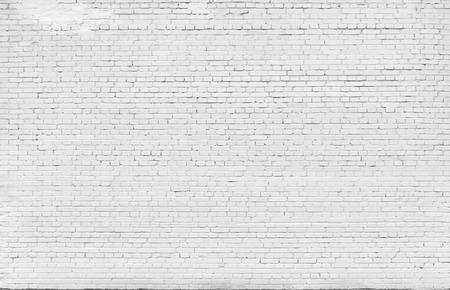 Contexte. Mur de briques peintes avec de la peinture blanche. Banque d'images - 54671497