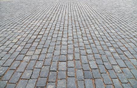 piso piedra: Resumen de antecedentes de pavimento de adoquines de cerca.