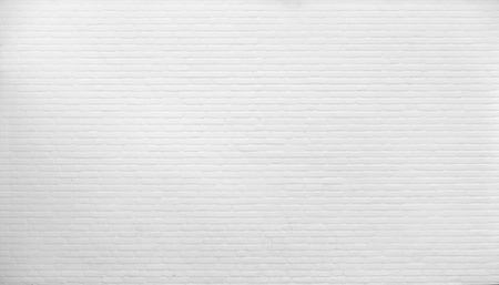 ladrillo: Fondo. pared de ladrillo pintado con pintura blanca.