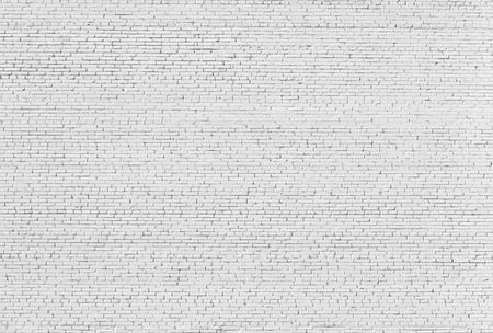 brick texture: Background. Brick wall painted with white paint.