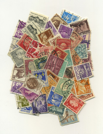 different countries: Stamps mail of the different countries