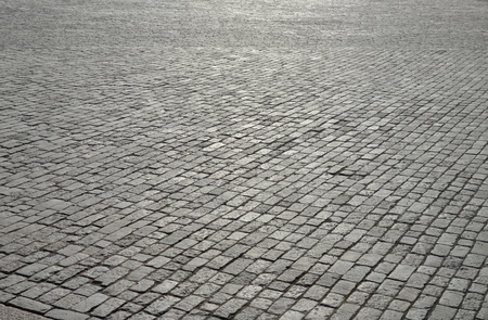 pavement: Abstract background of old cobblestone pavement Stock Photo