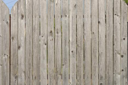 Oude houten hek textuur voor achtergrond.