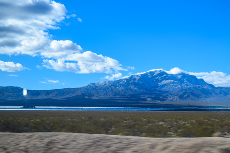 Viewing the Sierra Nevada Mountains