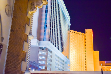 Las Vegas, NV, USA . January 21, 2016:  The Venetian Resort Hotel & Casino. The resort opened on May 3, 1999 with flutter of white doves, sounding trumpets, singing gondoliers