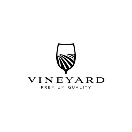 Vineyard logo design inspiration