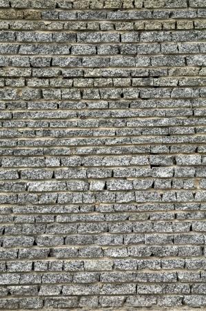 Ściany z cegły granitu Zdjęcie Seryjne - 15360632