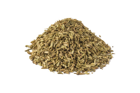 foeniculum: Spice foeniculum seasoning for meat and fish products of meal. Stock Photo