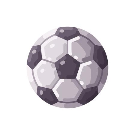 Football icon. Soccer championship flat illustration.