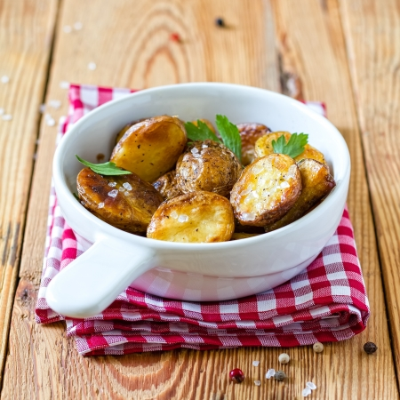 country kitchen: Fried potatoes
