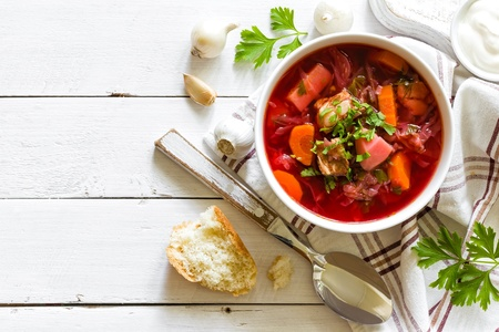 red cabbage: Soup