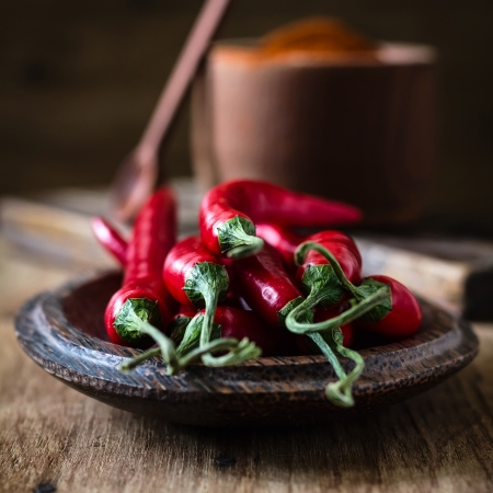 red chilly: Chili pepper