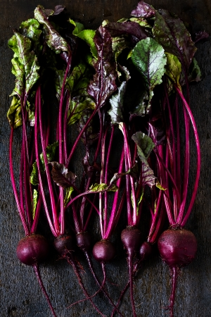 close up food: Beetroots
