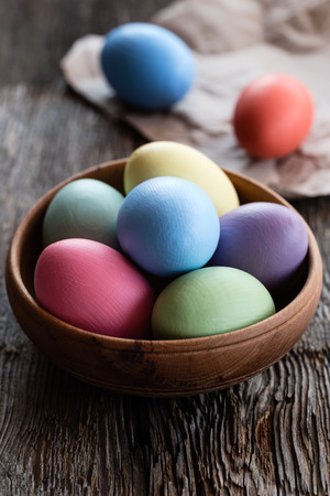 Easter eggs photo
