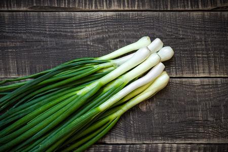 Spring onion Stockfoto