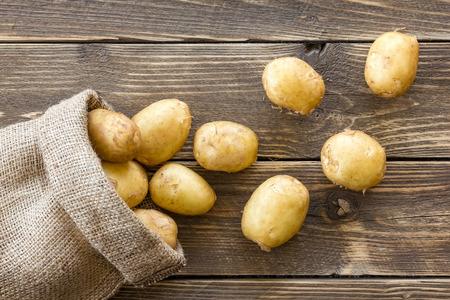 potato basket: Potatoes