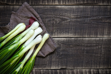 Spring onion Banque d'images