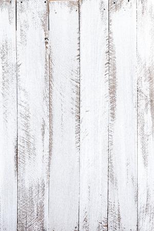 White wood background Standard-Bild