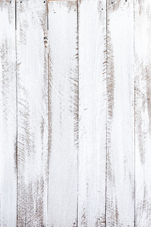 White wood background Stock Photo
