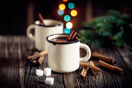 instant coffee: hot chocolate